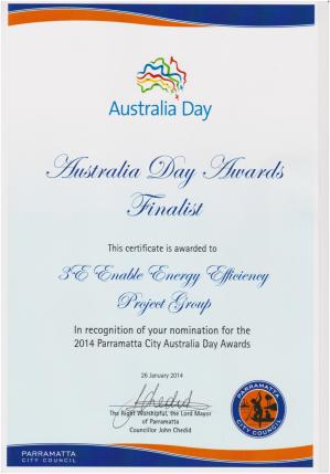 Australia Day Award